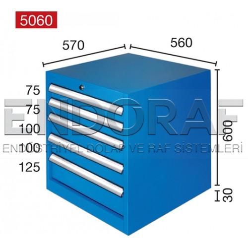 5 ÇEKMECELİ DOLAP 5060