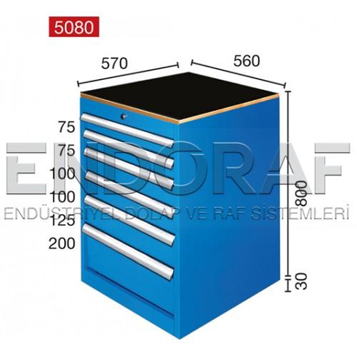 6 ÇEKMECELİ DOLAP 5080
