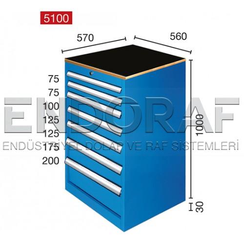 7 ÇEKMECELİ DOLAP 5100