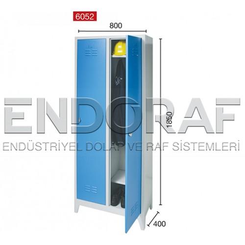 İKİLİ SOYUNMA DOLABI 6052