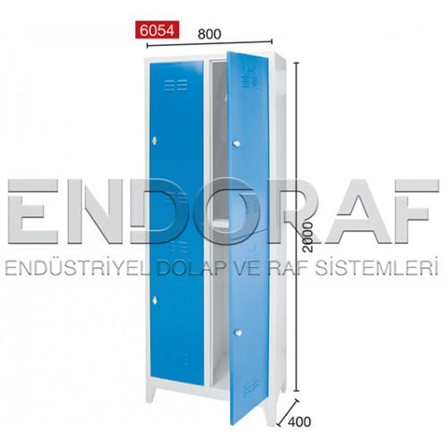 DÖRTLÜ SOYUNMA DOLABI 6054
