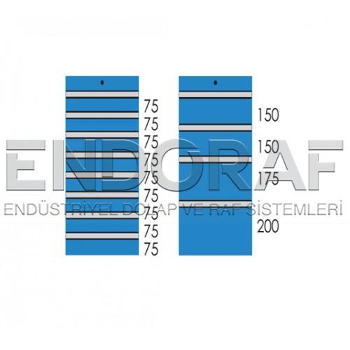 6 ÇEKMECELİ DOLAP 10080