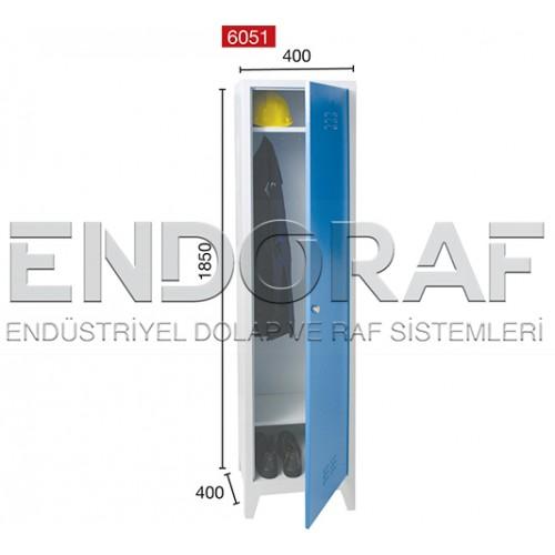 TEKLİ SOYUNMA DOLABI 6051