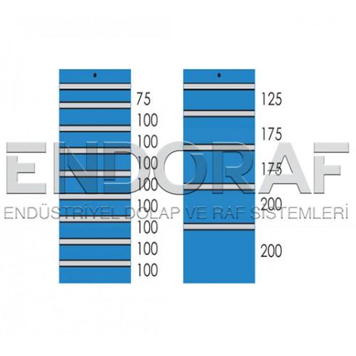 7 ÇEKMECELİ DOLAP 7100