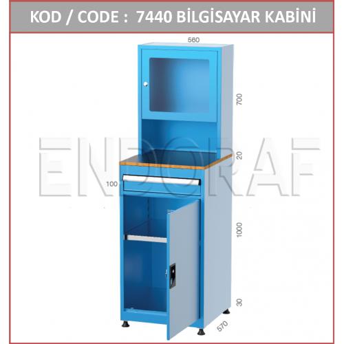 LCD EKRAN BİLGİSAYAR KABİNİ 7440