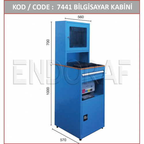 LCD EKRAN BİLGİSAYAR KABİNİ 7441